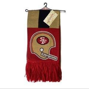 NFL San Francisco 49ers Mitchell&Ness Team Scarf